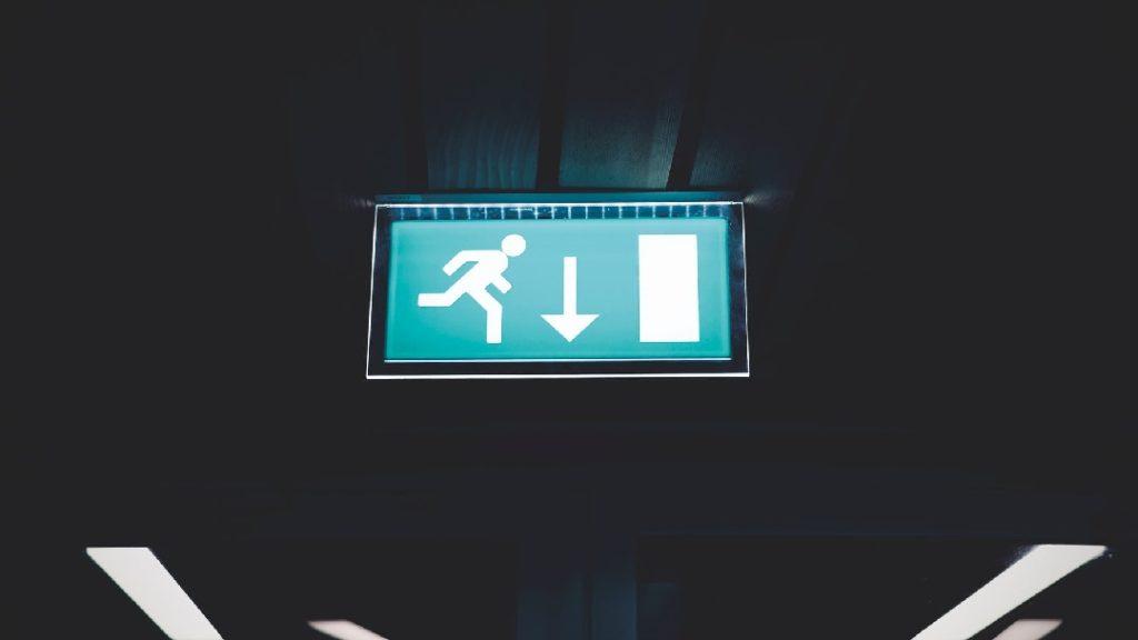 Ausgang Exit Icon