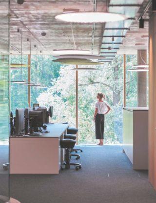 Verwaltungsgebäude der Bora Vertriebs GmbH & Co KG im österreichischen Niederndorf