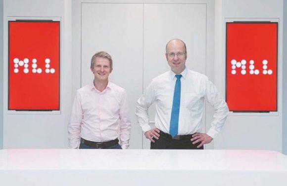 Thomas Schwebinghaus (links) und Professor Dr. med. Wolfgang Kern