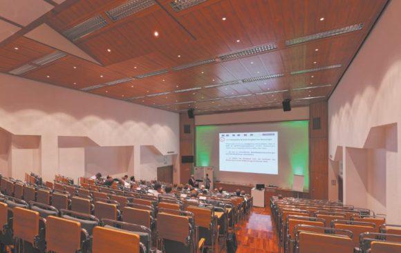 Veranstaltung in Hörsaal B im Haus der Technik
