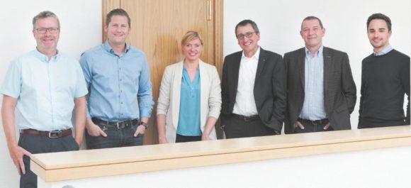 Dirk Neumann, Fabian Borgböhmer, Hilke Schürmann, Werner Klaffke, Kim Guercke, Jonas Vogt
