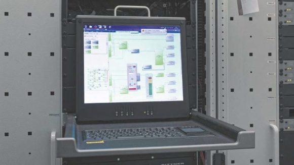 Die Software Harvey Composer ist auf einem Rechner im Technikraum installiert.