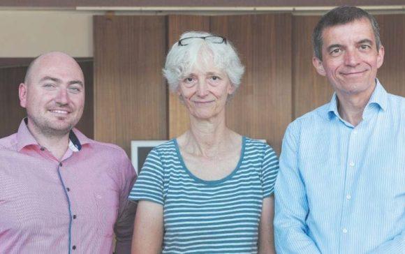 V.l.n.r.: Alexander Kissler, Elisabeth Thomann und Jochen Cronemeyer
