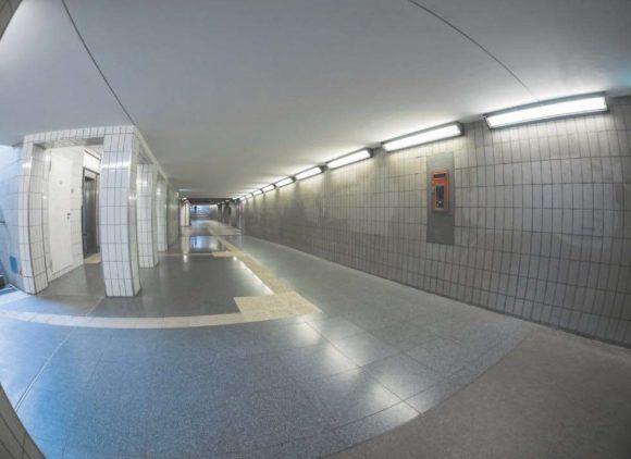 Beleuchtungslösung Verkehrsbauten und Fußgängerunterführungen/-tunneln