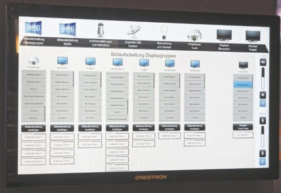 Touchpanel Routing