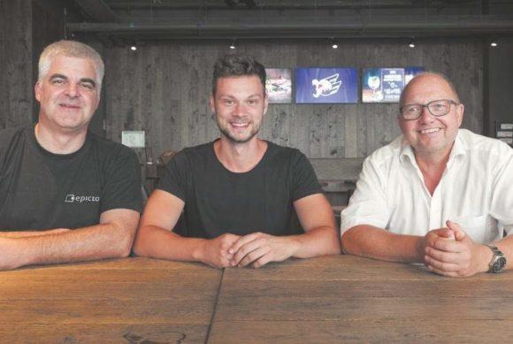 Rolf Pranner, Steffen Ruland und Michael Schenk