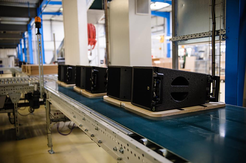 Manufacturing L-Acoustics