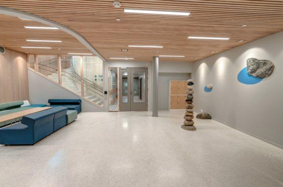 Lichtatmosphäre im St. Olavs Krankenhaus