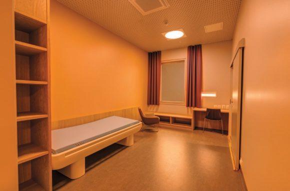Künstliches Licht im St. Olavs Krankenhaus in Trondheim