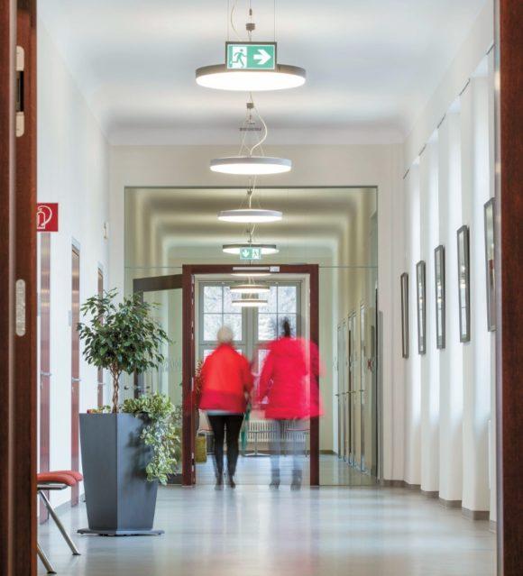 Gesundheitseinrichtungen und Licht