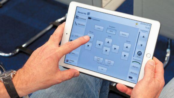Mediensteuerung mit Apple iPad Air