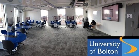 Lehren und Lernen neu gestalten: University of Bolton entscheidet sich für Sony