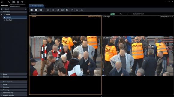 Dank Gesichtserkennungstechnologie von Panasonic an den Drehkreuzen können Dauerkarteninhaber des belgischen Fußballvereins RWD Molenbeek bald schneller und einfacherer die Tribüne in ihrem Stadion betreten.