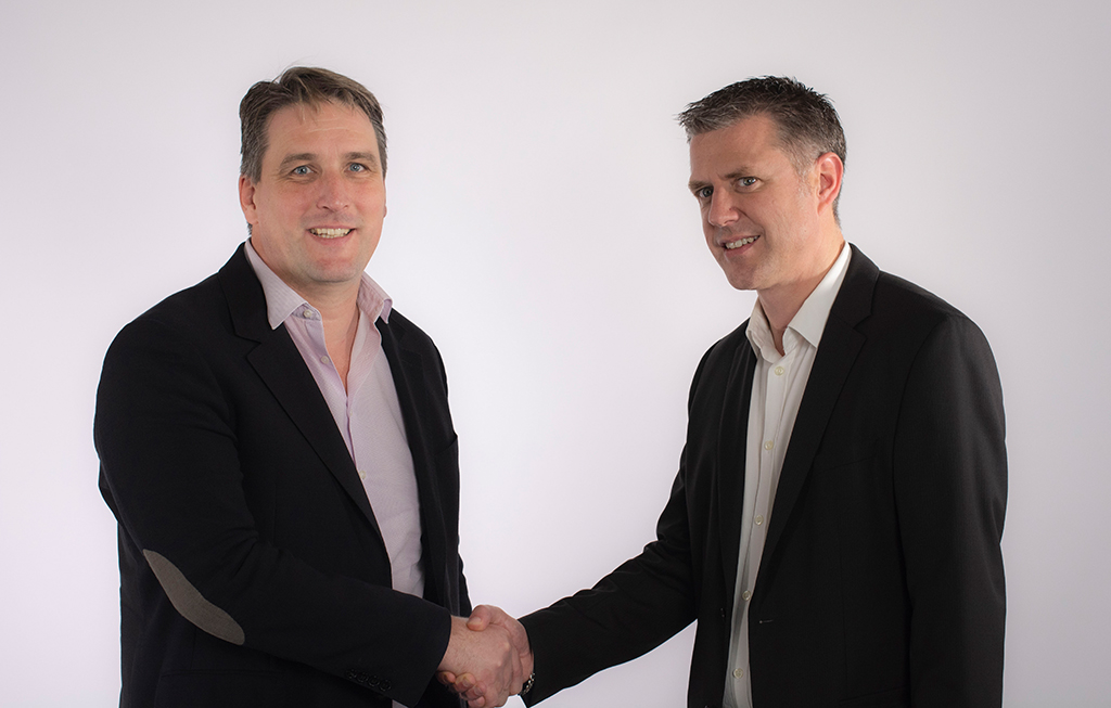 Hervé Guillaume, Geschäftsführer L-Acoustics  (links) und Bertrand Bounoure, Präsident und CCO HGP und API (rechts)