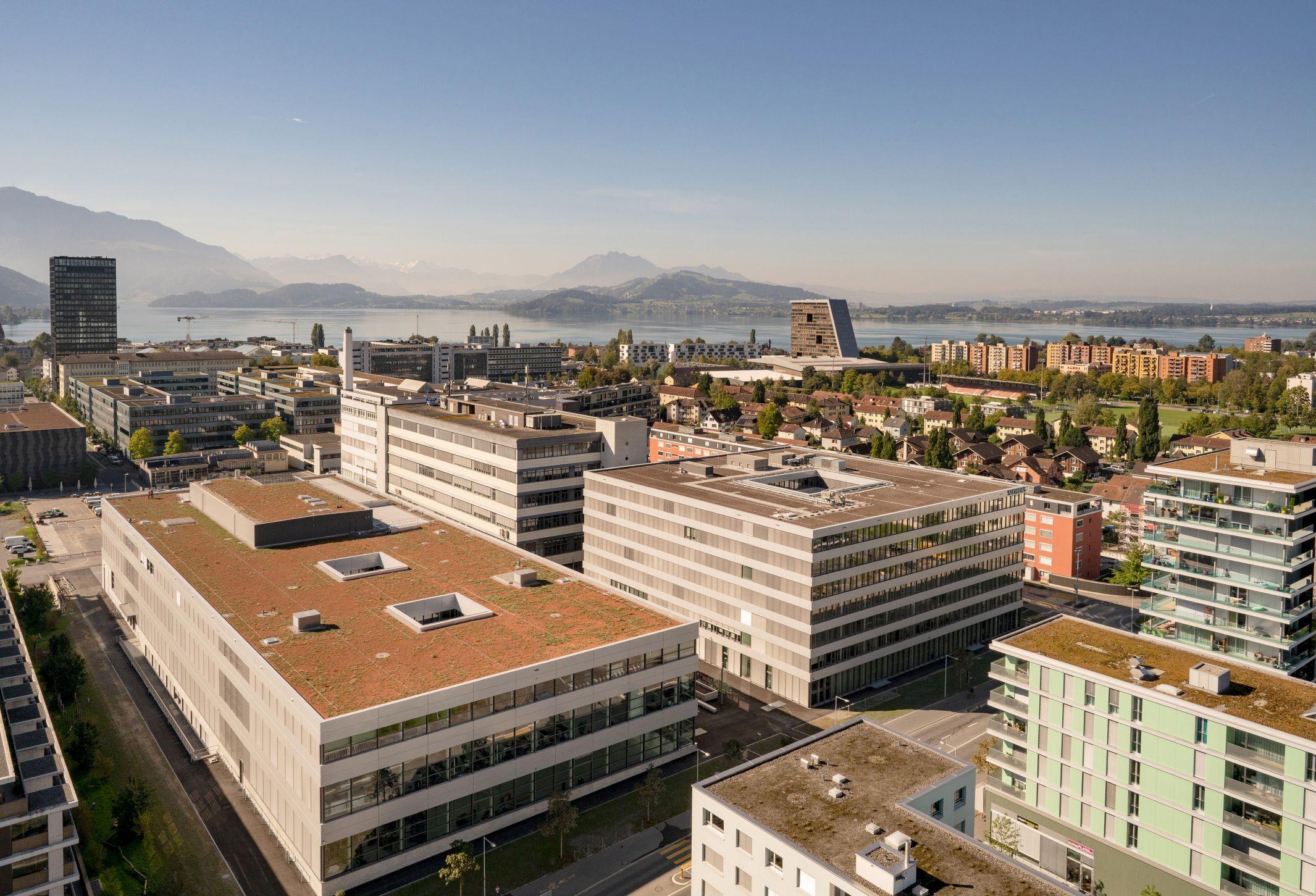 Einweihung des neuen Siemens Campus in Zug / Inauguration of the new Siemens Campus in Zug