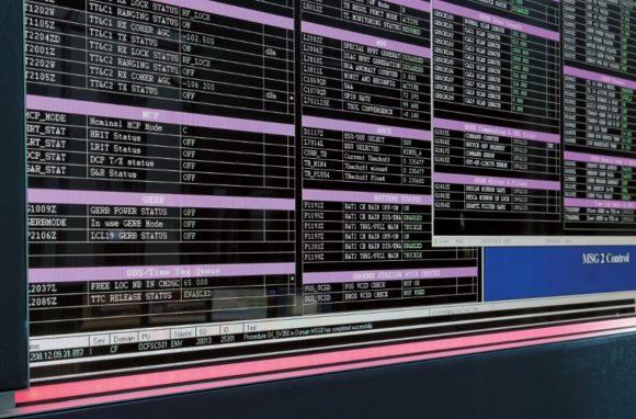 LED GEO Mission Control Centre