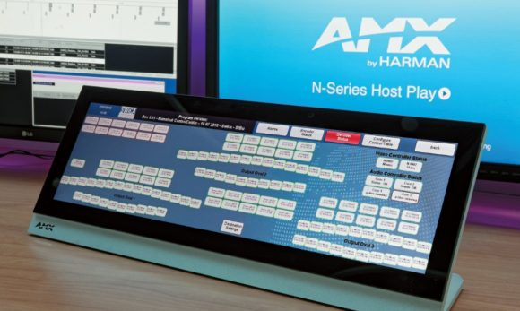 AMX Touchpanels