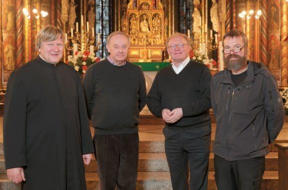 Adam Fitza, Willi Gerats, Gregor Kauling und Anselm Goertz Kirche Marienbasilika Kevelaer