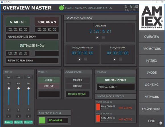 Mediensteuerungssystem Modulo Kinetic von Modulo Pi