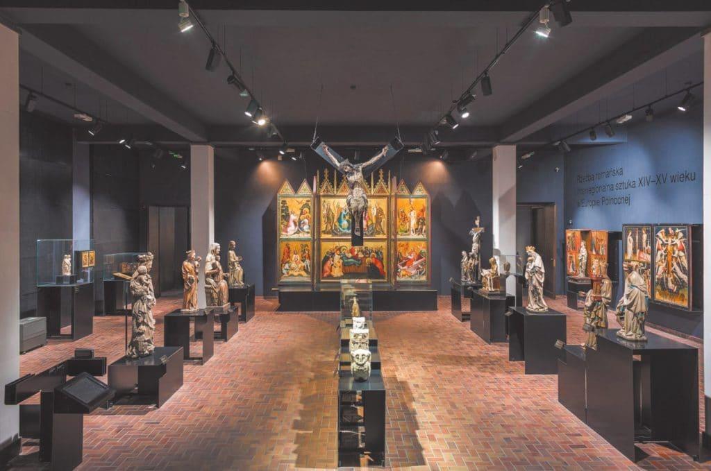 Was ist bei Licht für Kunst und Ausstellungsstücke zu