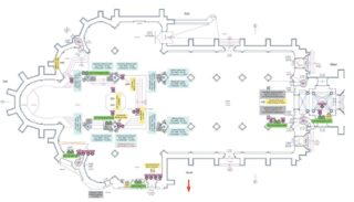 Grundriss der Basilika
