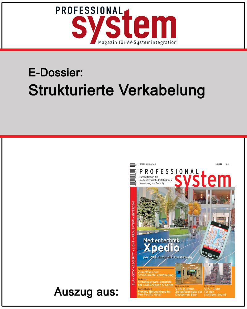 Produkt: Strukturierte Verkabelung