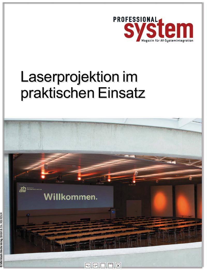 Produkt: Laserprojektoren im Einsatz