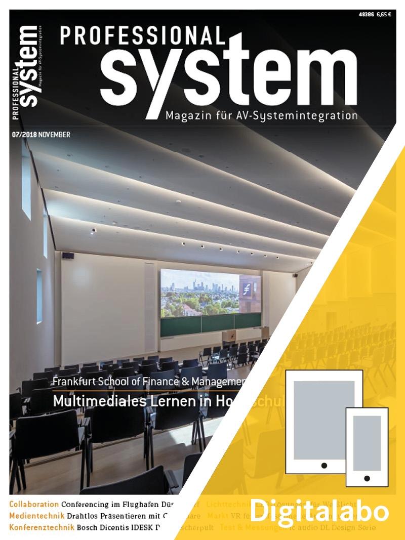 Produkt: PROFESSIONAL SYSTEM Jahresabonnement Digital