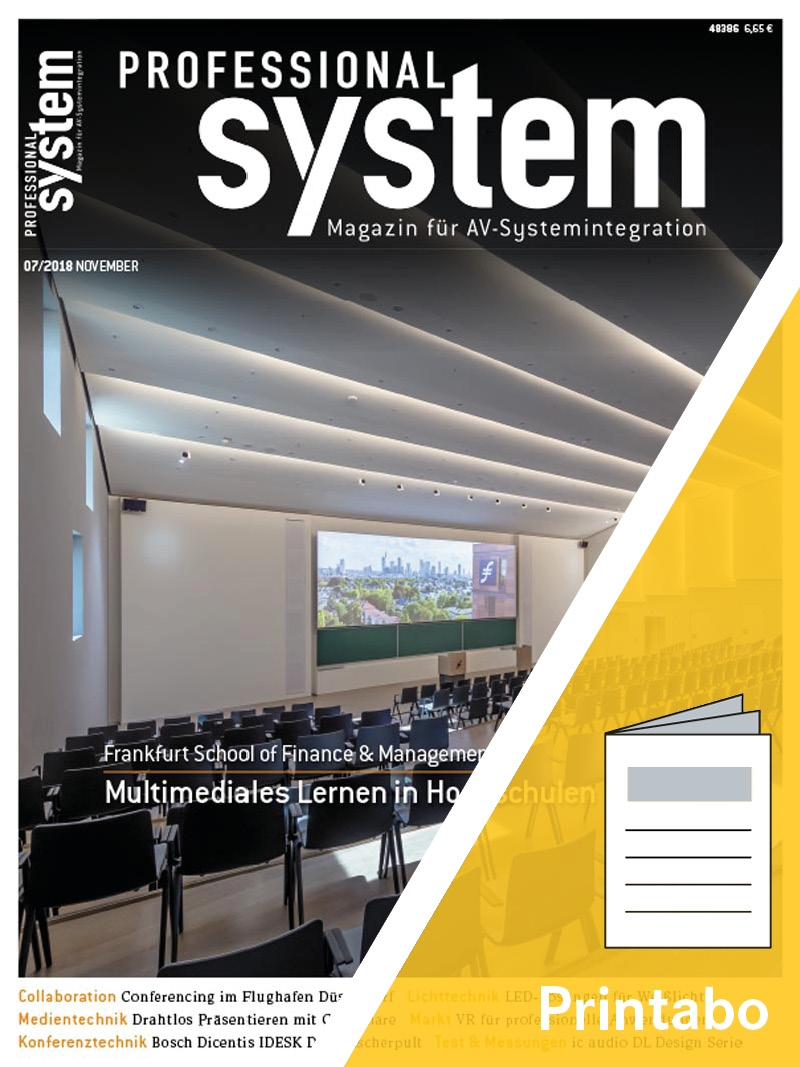 Produkt: PROFESSIONAL SYSTEM Jahresabonnement Print