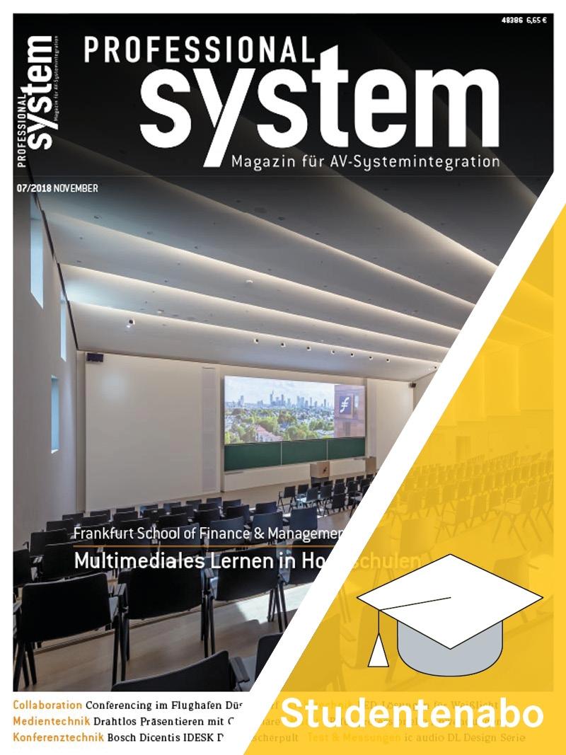 Produkt: Professional System Studentenabo