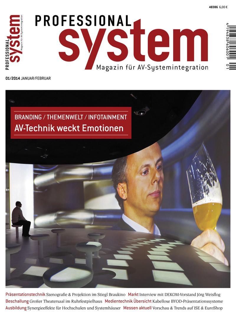 Produkt: Professional System Digital 1/2014