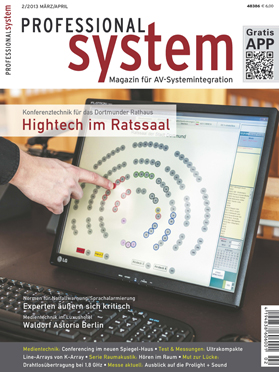 Produkt: Professional System Digital 2/2013
