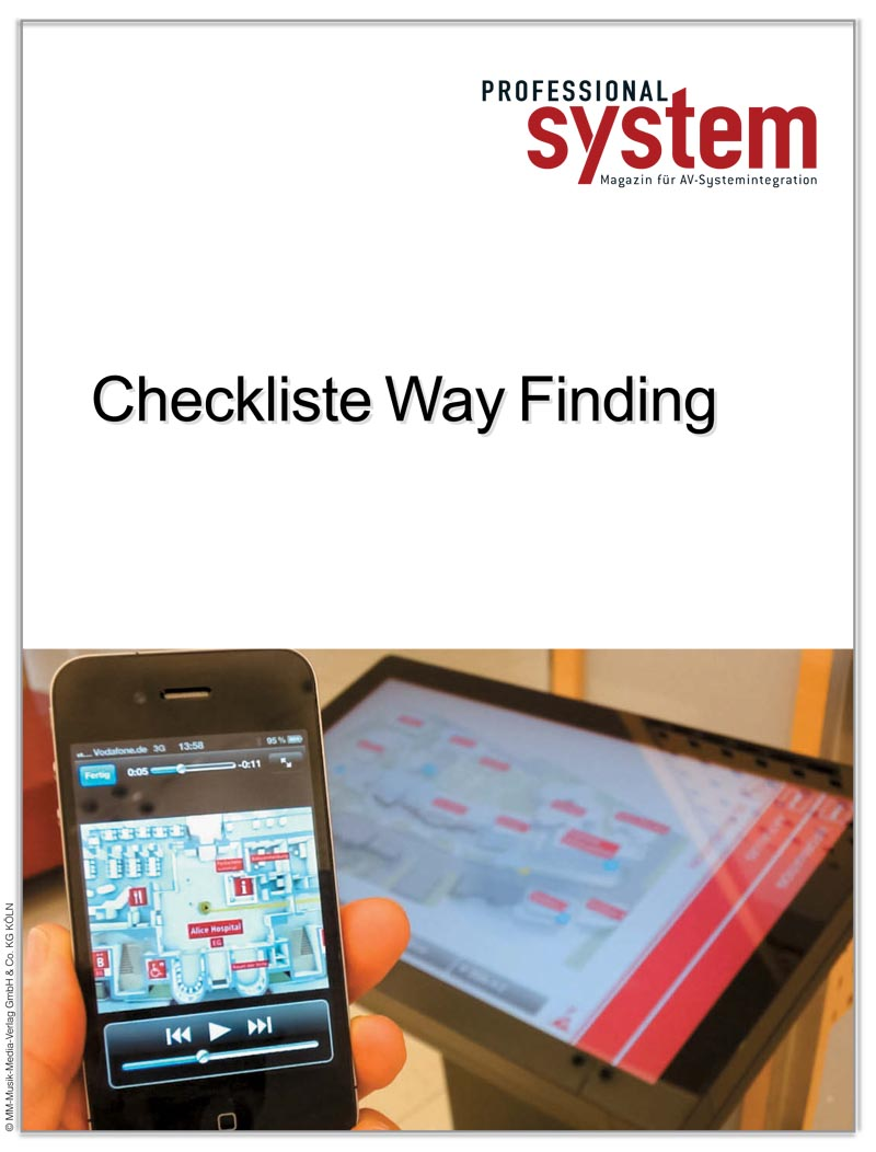 Produkt: Checkliste Way Finding