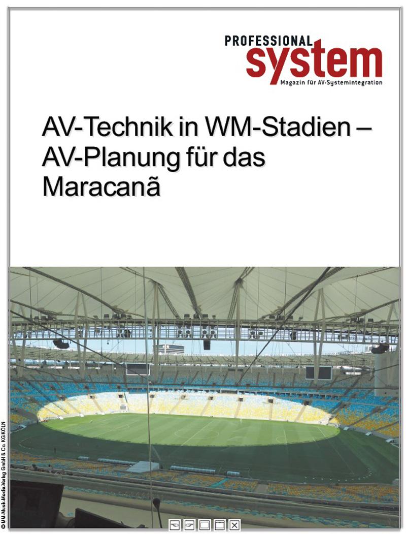 Produkt: Die AV-Planung für das Maracanã