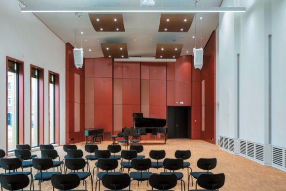 Kammermusiksaal im Musik-Campus der Bundeswehr
