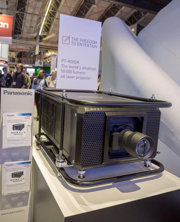 50.000 lm Laserprojektor von Panasonic