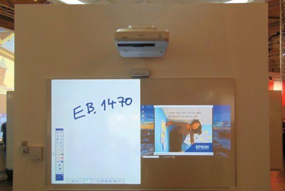 3LCD-Laserprojektor Epson EB-1470Ui