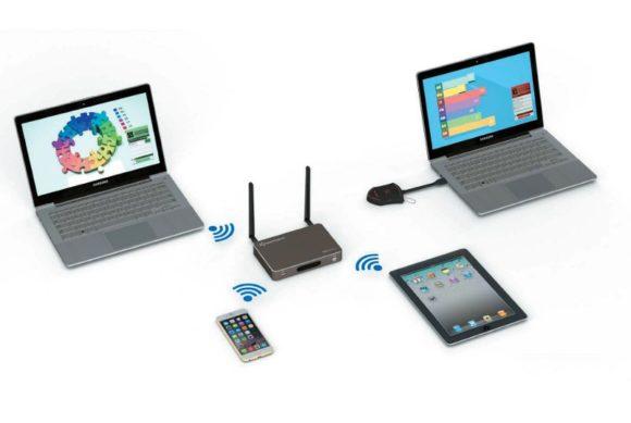 Klick & Show K-10L arbeitet ohne Touch-Transmitter.