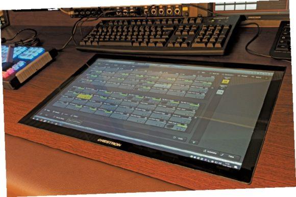 Crestron TSD-2220-B Touchpanel