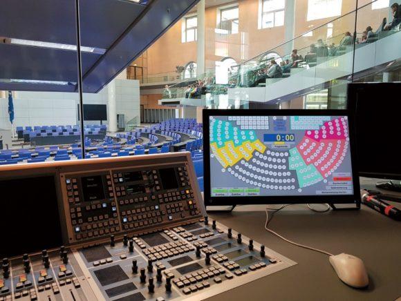 AURATUS-Mischpult im Zusammenspiel mit der Siemens S7-Steuerung