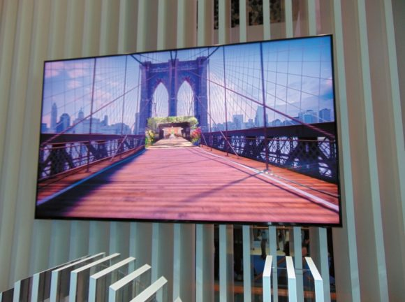 QLED-Display von Samsung
