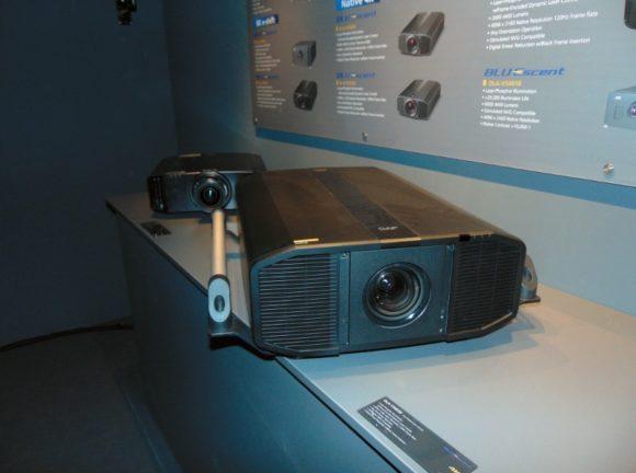 JVC-Projektor mit nativen 4K-D-ILA Chip
