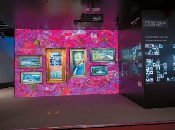 Panasonic präsentierte sein 4K-Display-Line-up