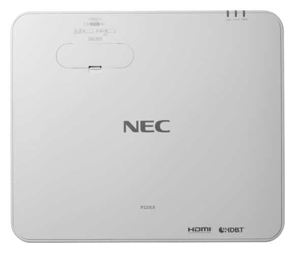 Laserprojektor von NEC Draufsicht