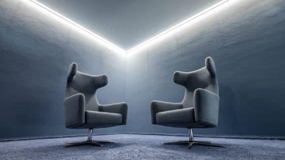 Kreativzonen eines Bürokomplexes