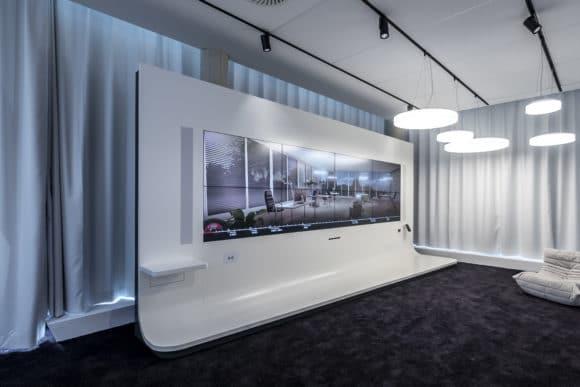 Moderner Showroom