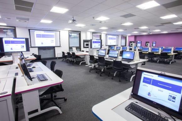 Der interaktive Bereich im College of Engineering Central
