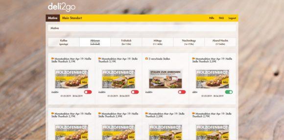 Food-Service-Konzept bei Shell