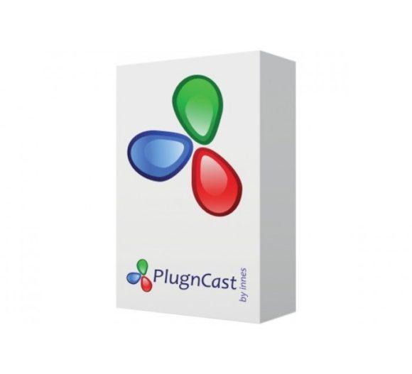 CMS-Applikation PlugnCast