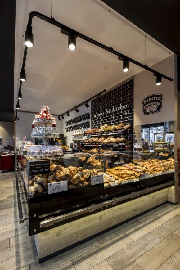 Bäckerei mit angeschlossenem Café